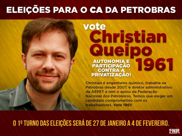 Christian disputa o segundo turno para o CA